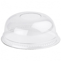 10-12oz Domed Lid With Hole x1250