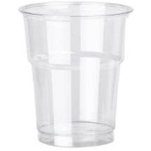 10oz Tulip Smoothie Clear Cup x1250