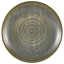 Terra Porcelain Matt Grey Deep Coupe Plate 25cm x6