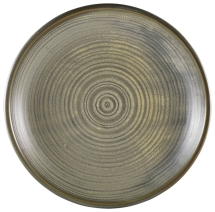 Terra Porcelain Matt Grey Deep Coupe Plate 28cm x6