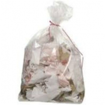 Clear Biodegradeable Refuse Sack 18x29x34inch x200