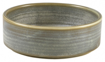 Terra Porcelain Matt Grey Presentation Bowl 13cm x6