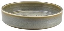 Terra Porcelain Matt Grey Presentation Bowl 18cm x6