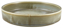 Terra Porcelain Matt Grey Presentation Bowl 20.5cm x6