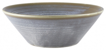 Terra Porcelain Matt Grey Conical Bowl 19.5cm x6