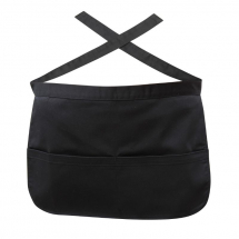 Black Money Pocket Apron x1