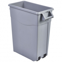 Grey Slim Recycling Bin 65L x1