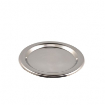 S/St.Tips Tray 5.1/2inchDia.(140mm) x1