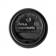 Compostible Lids For 12 - 16oz Tubs x500