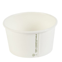 12oz Compostible Paper Tubs x500