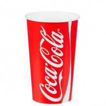 22oz Paper Cups Coke x1000