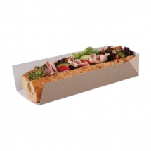 Colpac HD3KR Kraft Open Ended Tray 250x80x50mm x500