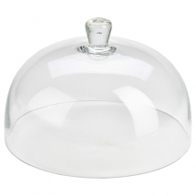 Glass Cake Stand Cover 29.8 x 19cm x1