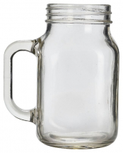 Glass Mason Jar 50cl / 17.5oz x12