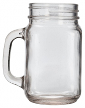 Glass Mason Jar 68cl / 24oz x6