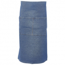 Washed Denim Waist Apron 90 x 70cm x1
