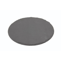 GenWare Natural Edge Slate Platter 30cm Round x1