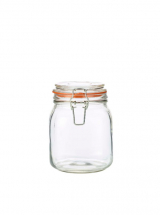 GenWare Glass Terrine Jar 1L x6