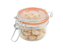 GenWare Glass Terrine Jar 125ml 8.1 x 6.5cm x1