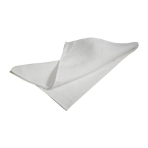 Honeycomb White T-Towel 51X76cm 10Pcs x1