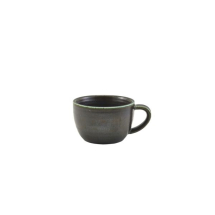 Terra Porcelain Cinder Black Coffee Cup 28.5cl/10oz x6