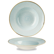 Stonecast Duck Egg Blue Profile Wide Rim Bowl Large 10.90inch x12