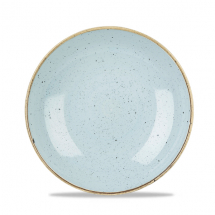 Stonecast Duck Egg Blue Evolve Coupe Bowl 9.75inch x12