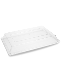 Plastic  Rect Buffet Cover 20 7/8 12 3/4inch x2