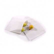 6x6inch White Paper Sulphite Bags Strung x1000