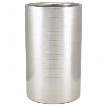 GenWare Ribbed Stainless Steel Wine Cooler x1