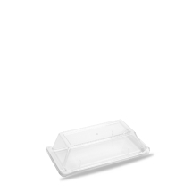 Plastic  Rect Buffet Cover 11 7/8X5 3/4inch x6