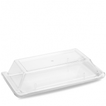 Plastic  Rectangle Buffet Cover 22.75X7.75inch x2
