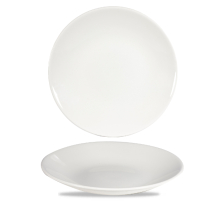 White Profile Deep Coupe Plate 9.4inch x12