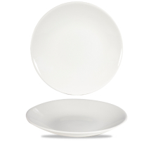 White Profile Deep Coupe Plate 11inch x12