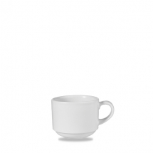 White Profile Stacking Cup 8oz x12