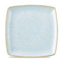 Stonecast Duck Egg Blue Deep Square Plate 10.5inch x6