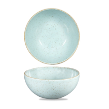 Stonecast Duck Egg Blue Noodle Bowl 42oz x6