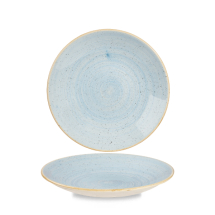 Stonecast Duck Egg Blue Deep Coupe Plate 8 2/3inch x12