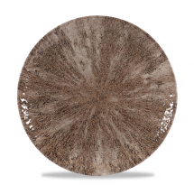 Stone Zircon Brown Evolve Coupe Plate 10.25inch x12