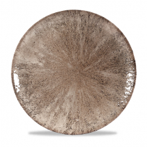 Stone Zircon Brown Evolve Coupe Round Plate 11.25inch x12