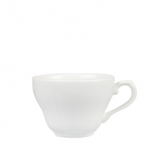 White Georgian Tea Cup 7oz x12