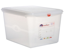 GN Storage Container 1/2 200mm Deep 12.5L x1