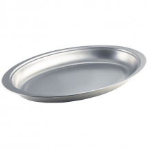 S/St.Oval Banqueting Dish 20inch x1