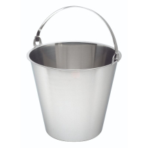 Swedish S/St. Bucket 12 Litre Graduated x1