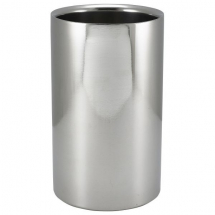 Polished St/St Wine Cooler 12 Dia X 20cm H x1