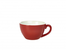 GenWare Porcelain Red Bowl Shaped Cup 34cl/12oz x6