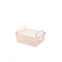 Copper Wire Display Basket GN1/2 x1