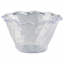 Tulip Dessert Dish Clear 159ml 95 x 55mm x1