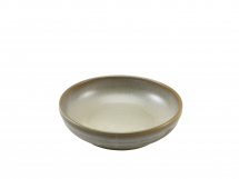 Terra Porcelain Matt Grey Coupe Bowl 20cm x6