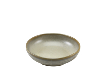 Terra Porcelain Matt Grey Coupe Bowl 23cm x6